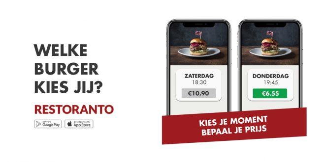 Nieuw: Tot 70% Korting in restaurants met Restoranto